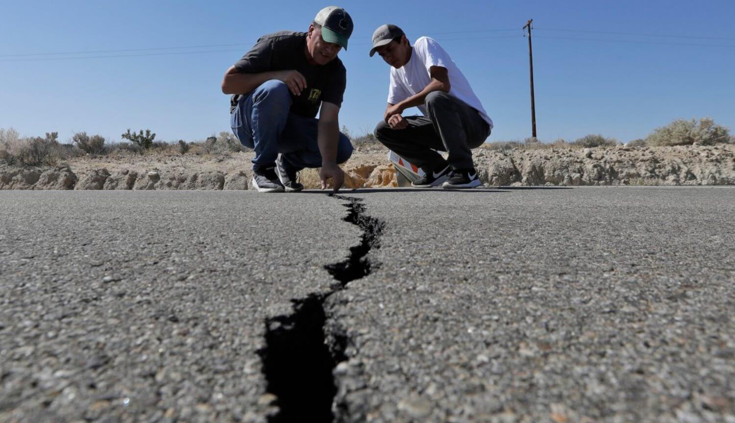 In the United States occurred more than 3000 earthquakes a few days. In California it is expected even more