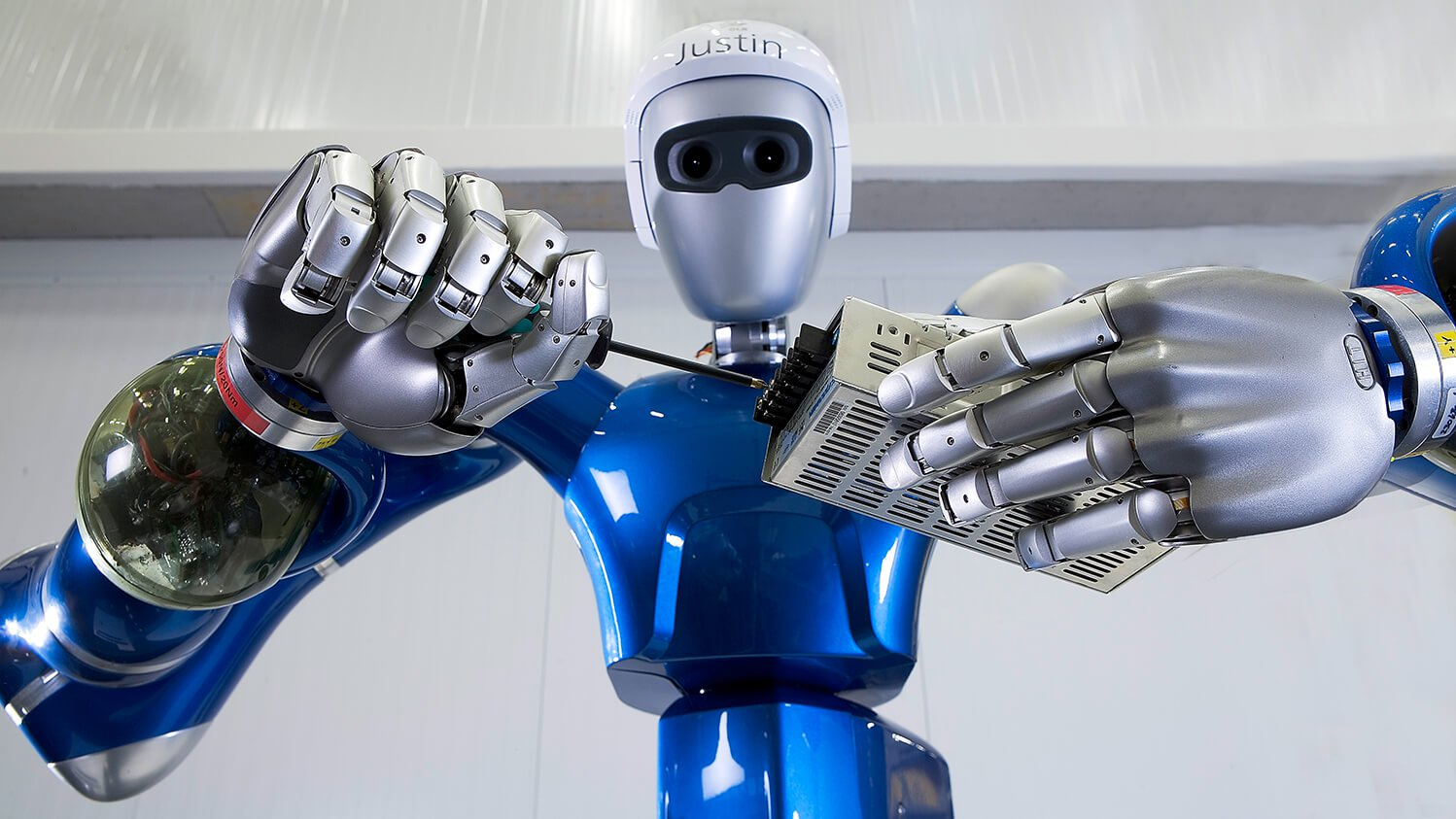 What is an anthropomorphic robot, and why is their popularity growing?