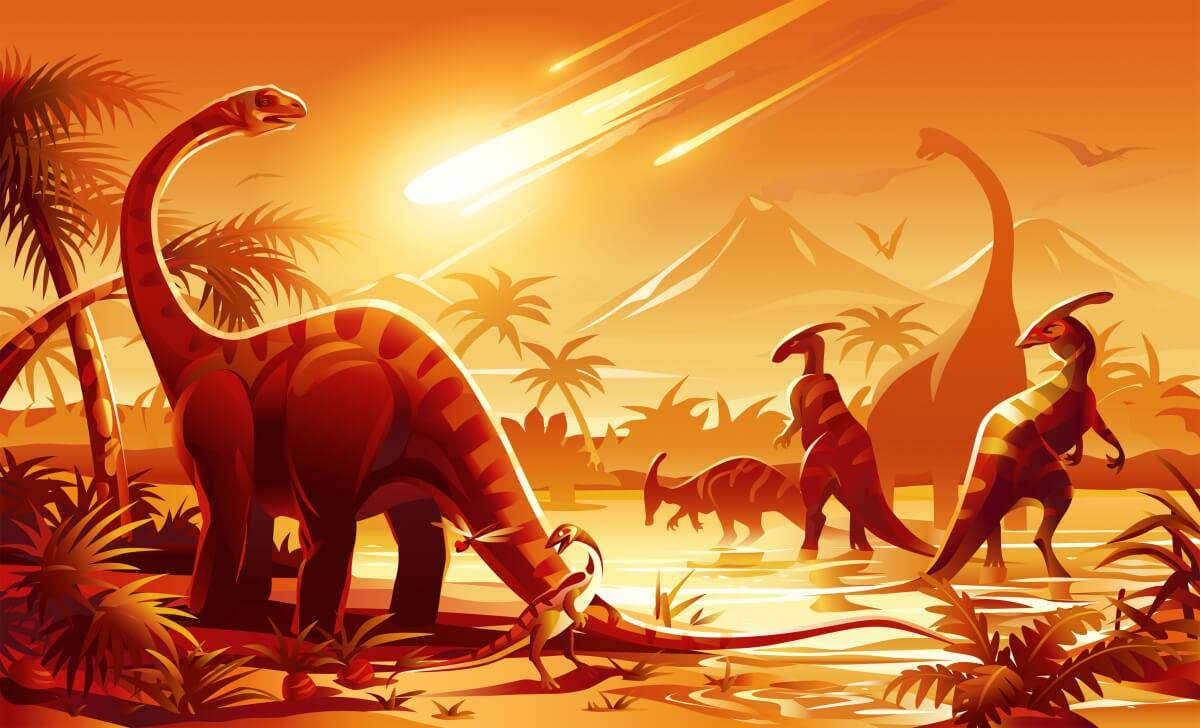 What is known about the asteroid that killed the dinosaurs?