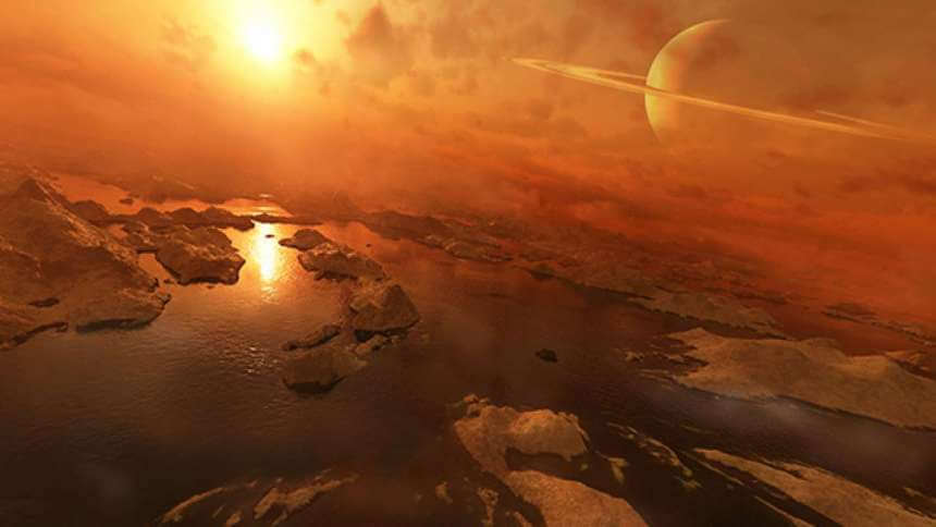 Lakes on Titan may suddenly explode