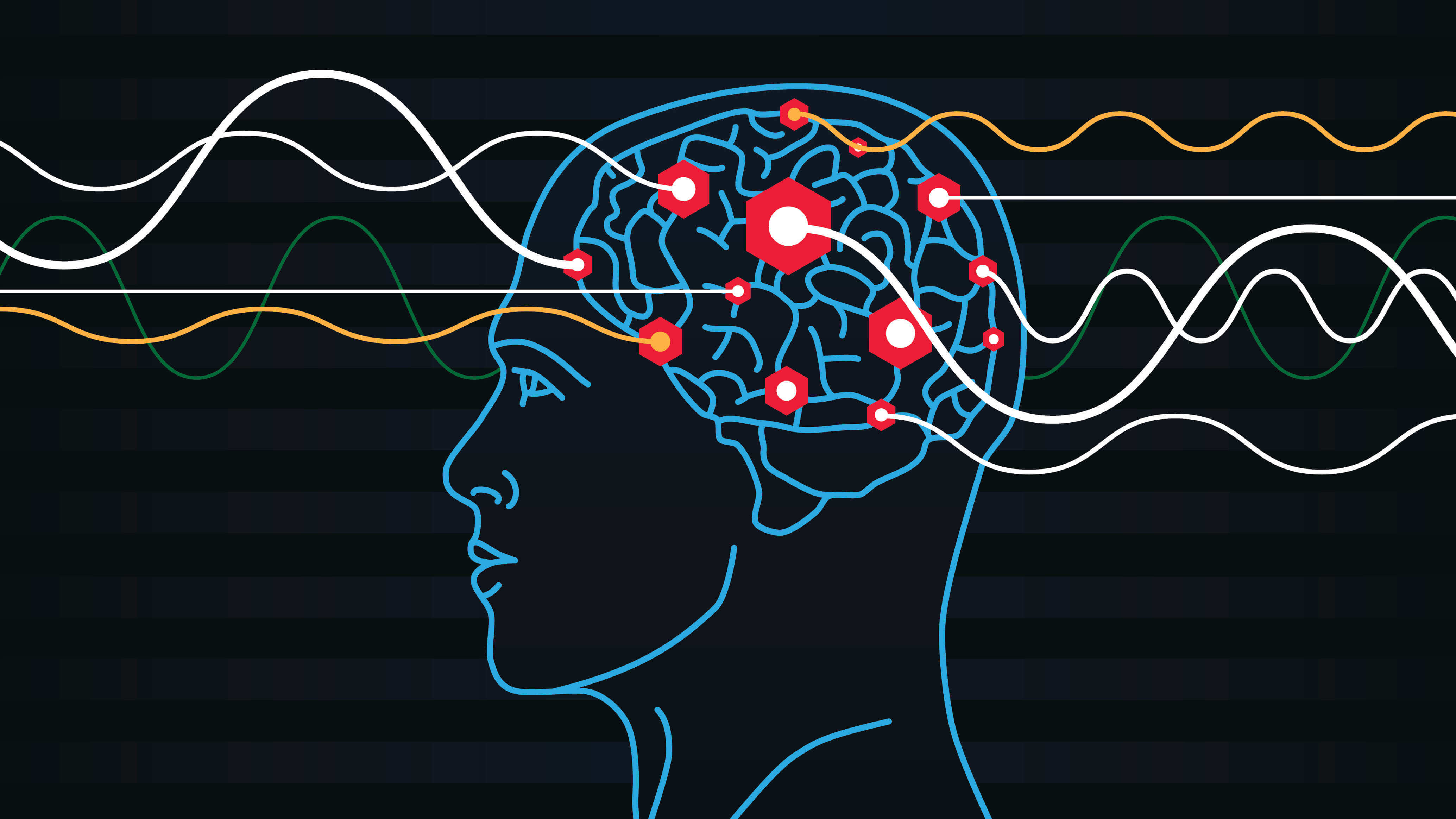 New technology made it possible to control brain waves