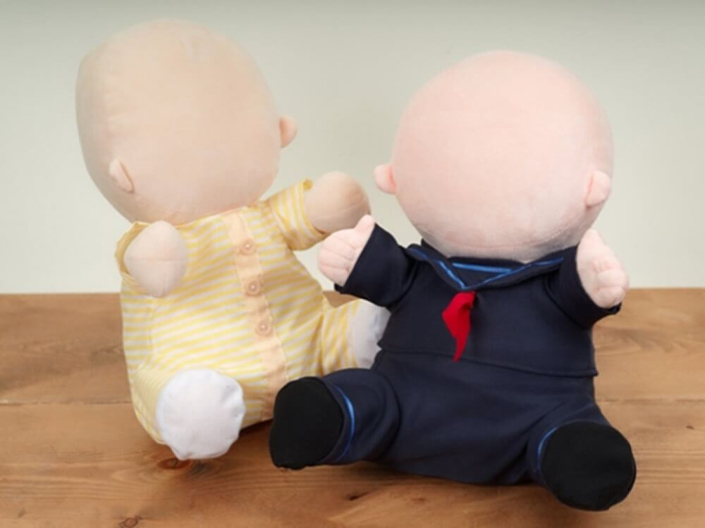 Japan has created a robot in the form of a baby without a face. What is it for?