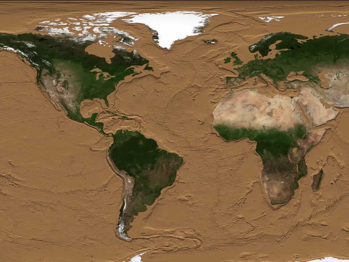 #video | How to look like the Earth, if all the oceans dry?