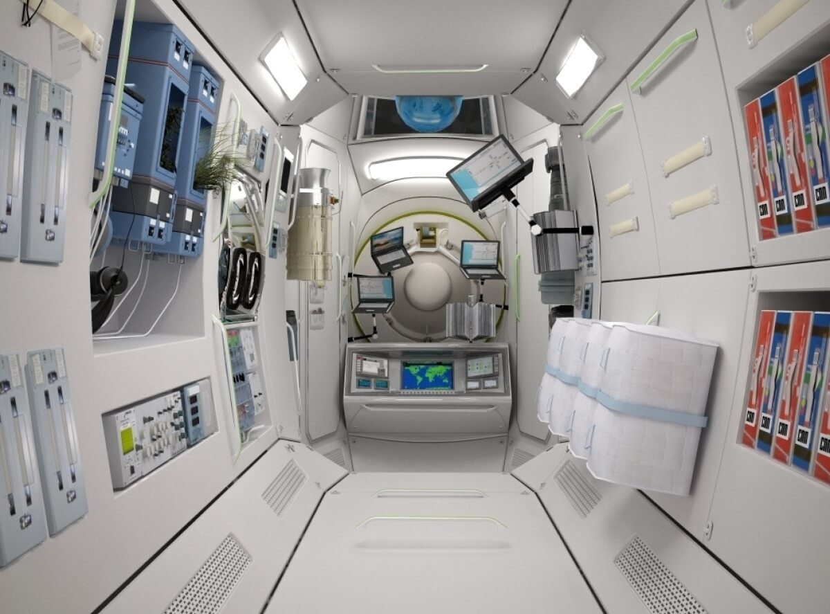 On the ISS want to build space hotel