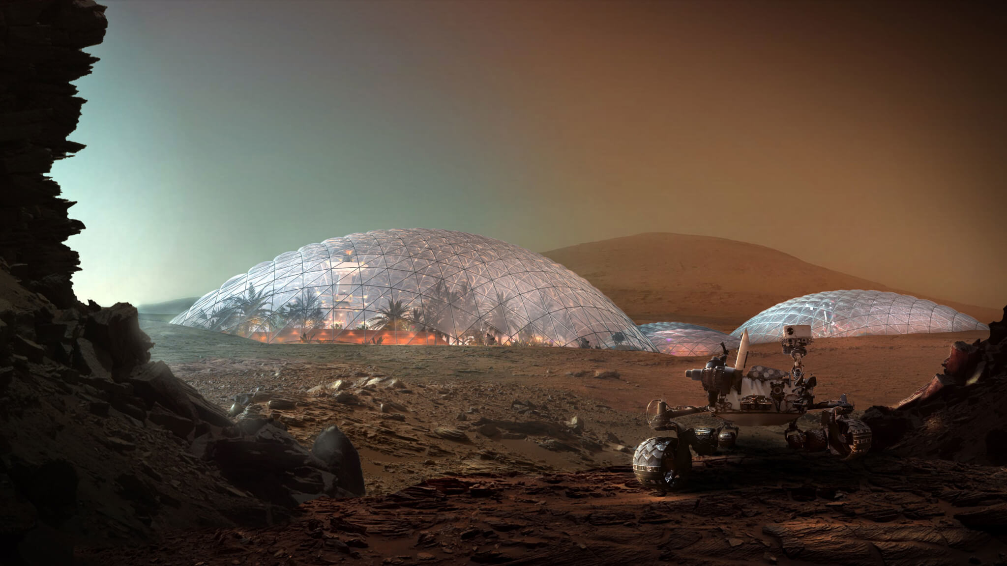 For communications with Earth, Martian colonists will use the laser