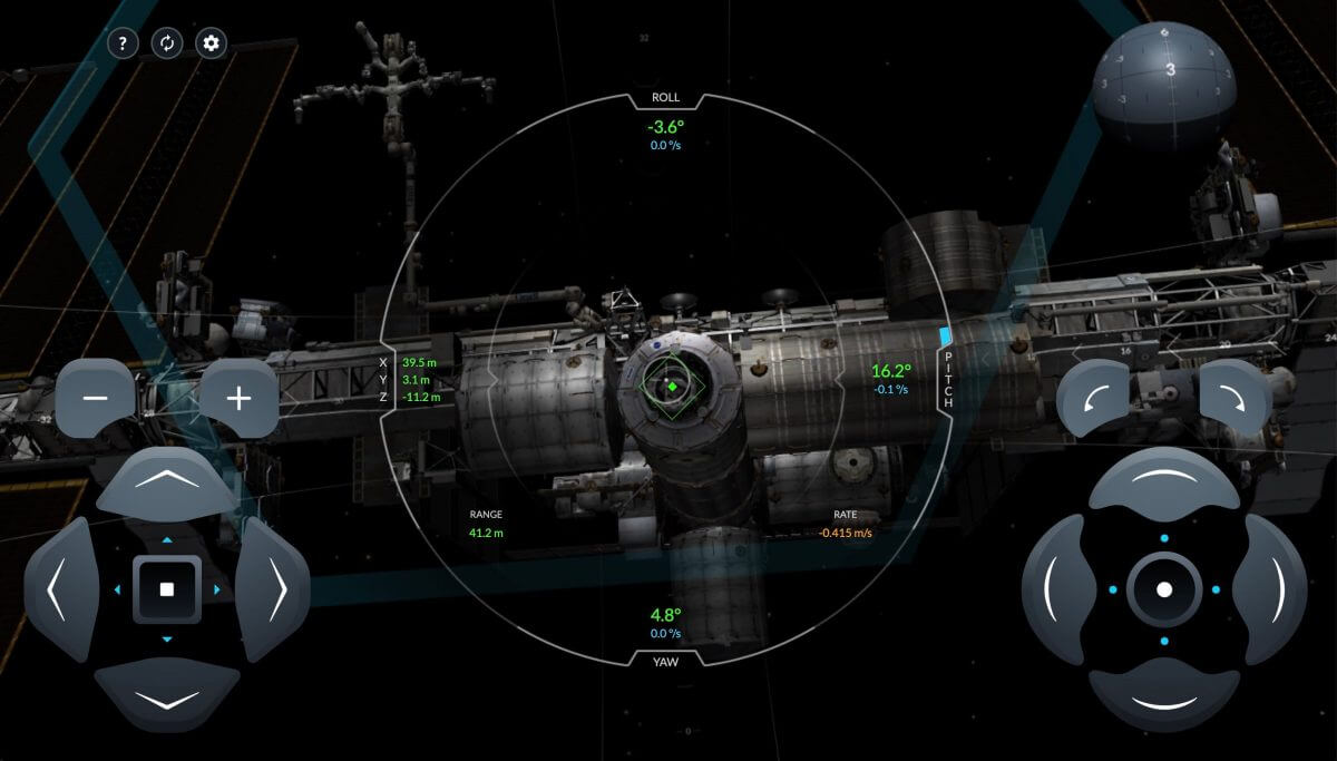 And you can? SpaceX has released a real simulation of Crew Dragon docks with ISS