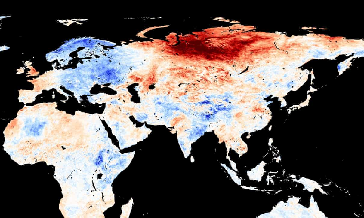 Climatologists are concerned about the abnormal heat in Siberia