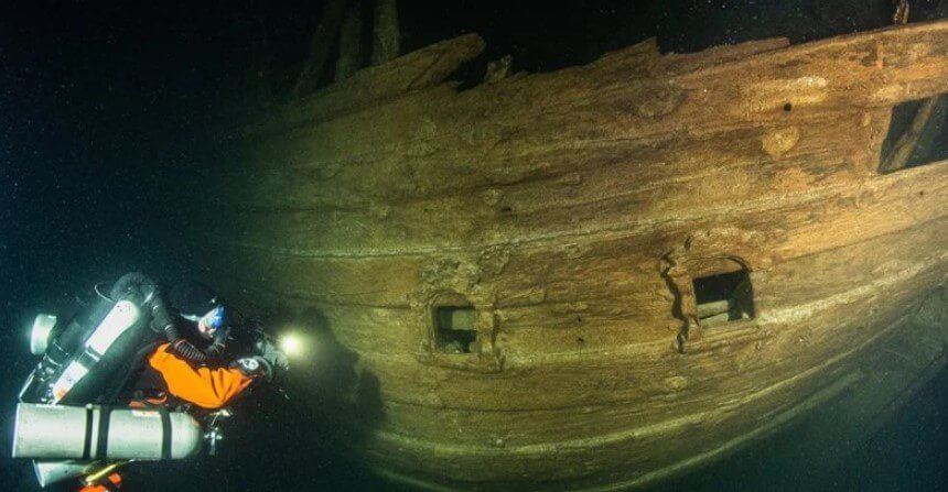 How well can a ship that sank 400 years ago survive?